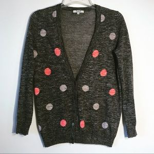 Madewell Fairweather Cardigan in Double Dot E1